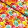6343 teplakovina kvety a listy