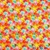 6343 2 teplakovina kvety a listy