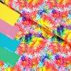 teplákovina Rozpité barvy - barevné