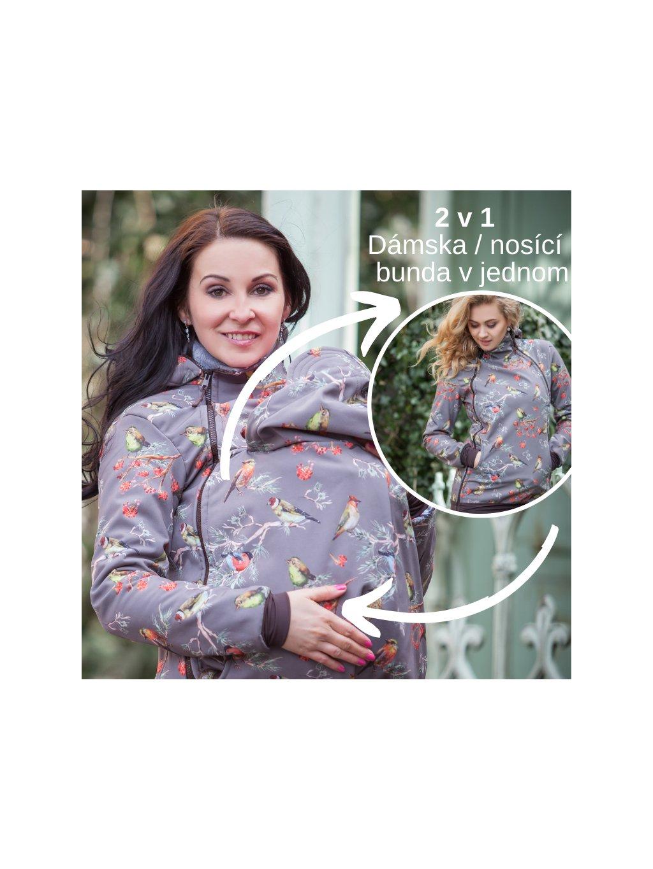 www.latulia.cz nosící bunda babywearing jacket (1)