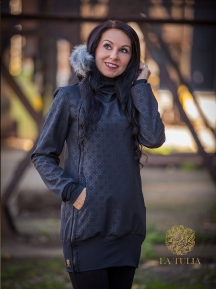 La Tulia babywearing jacket nosici bunda glamour collection (3)