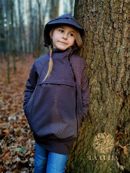 La Tulia dětská softshellová bunda (2)