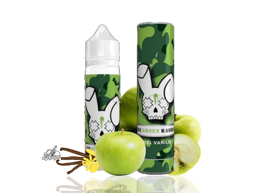 Příchuť SNV 10 ml v 60ml lahvičce - The Green Rabbit - jablka, vanilka. lavape.cz