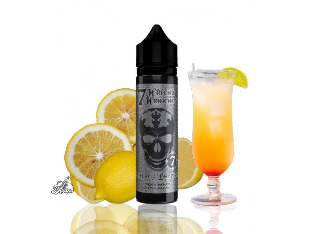 Příchuť SNV 10 ml v 60ml lahvičce - 7 Lenost - Trägheit - citron, limonáda. lavape.cz