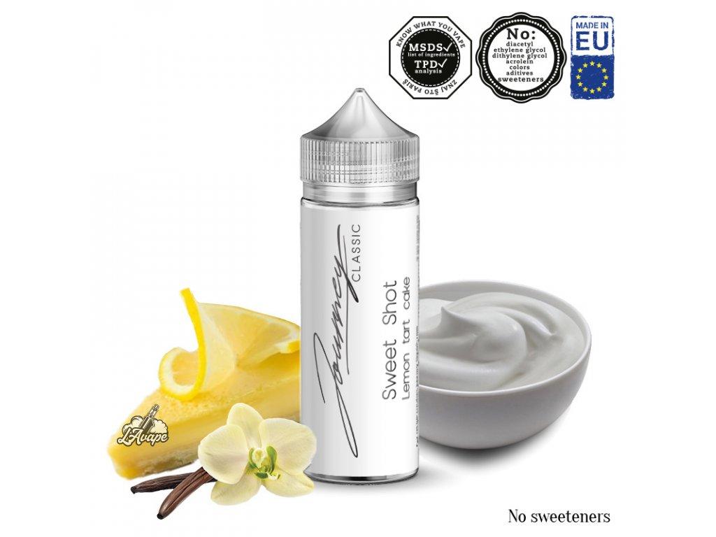 AEON Journey Classic Sweet Shot - krémový vanilkový pudink s citrónem a korpusem - lavape.cz