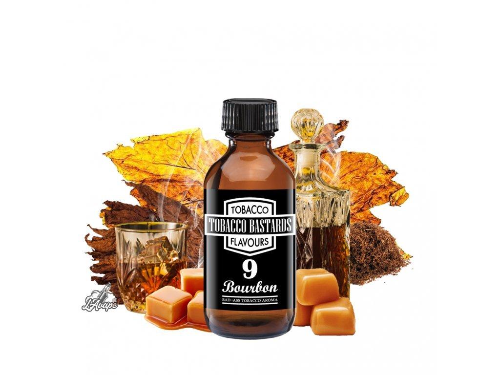 Příchuť 10ml aroma Flavormonks Tobacco Bastards No. 09 Bourbon - lavape.cz
