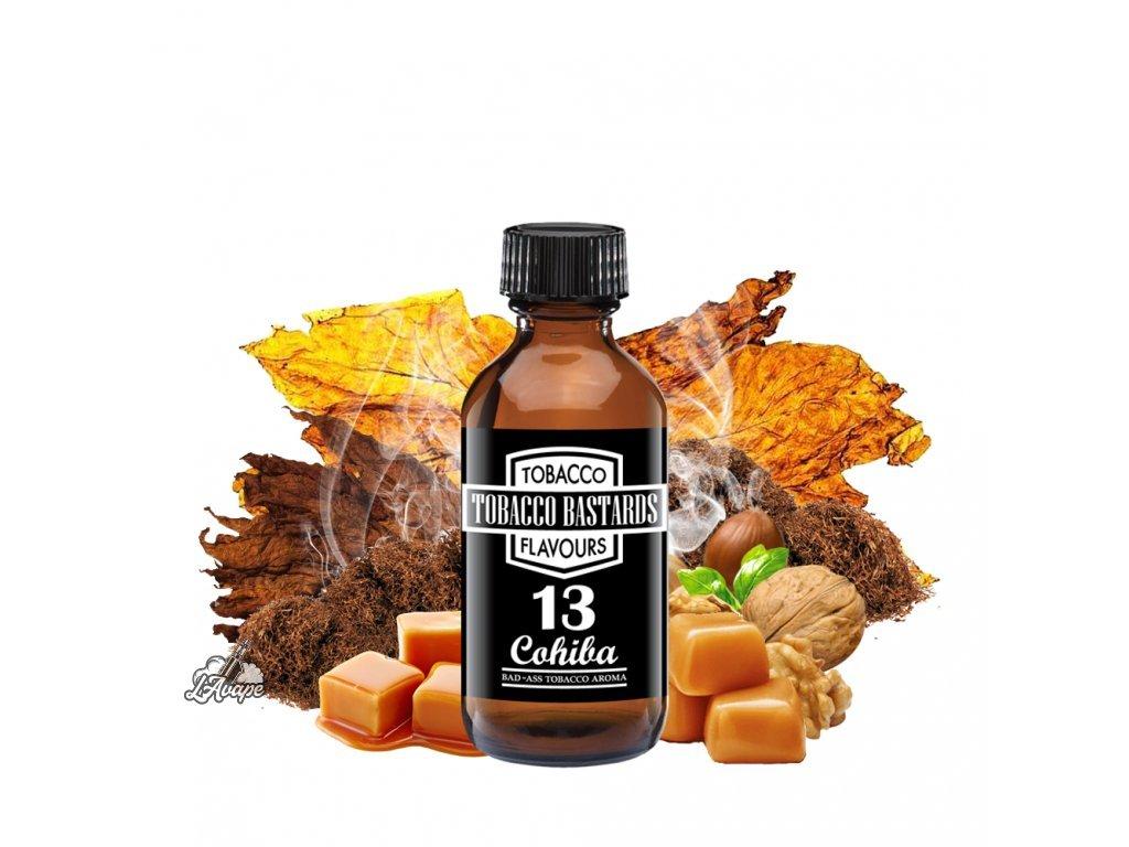 Příchuť 10ml aroma Flavormonks Tobacco Bastards No. 13 Cohiba - lavape.cz