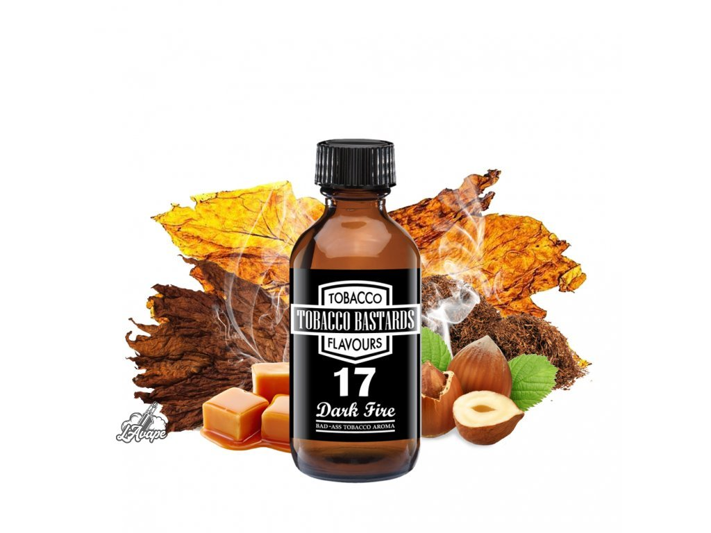 Příchuť 10ml aroma Flavormonks Tobacco Bastards No. 17 Dark Fire - lavape.cz
