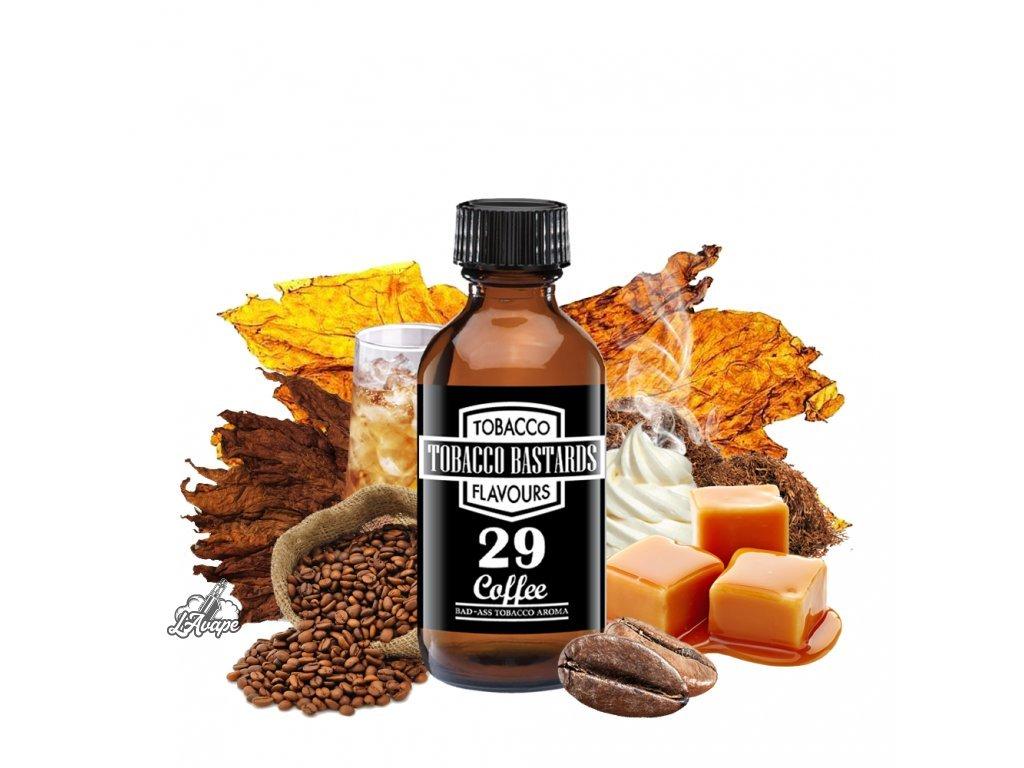 Příchuť 10ml aroma Flavormonks Tobacco Bastards No. 29 Coffee - lavape.cz