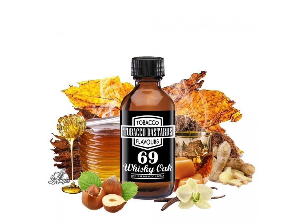 Příchuť 10ml aroma Flavormonks Tobacco Bastards No. 69 Whisky Oak - lavape.cz