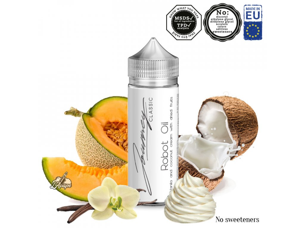 AEON Journey Classic Robot Oil - vanilkový krém se sušeným ovocem a kokosem - lavape.cz