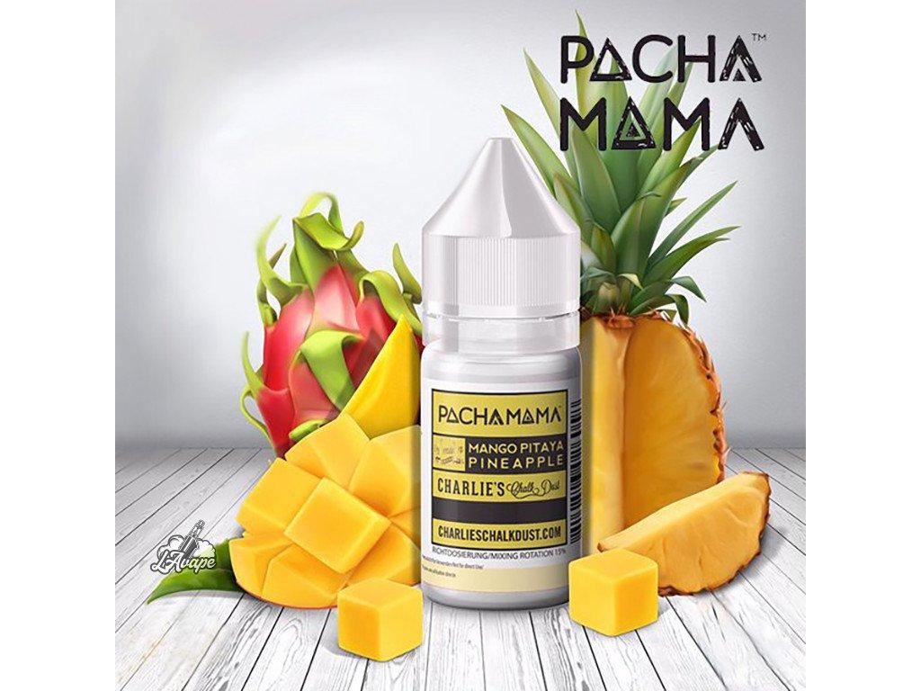 Charlie´s Chalk Dust Pacha Mama Pacha Mama Mango, Pitaya, Pineapple. 30 ml aroma - ovocný mix. lavape.cz