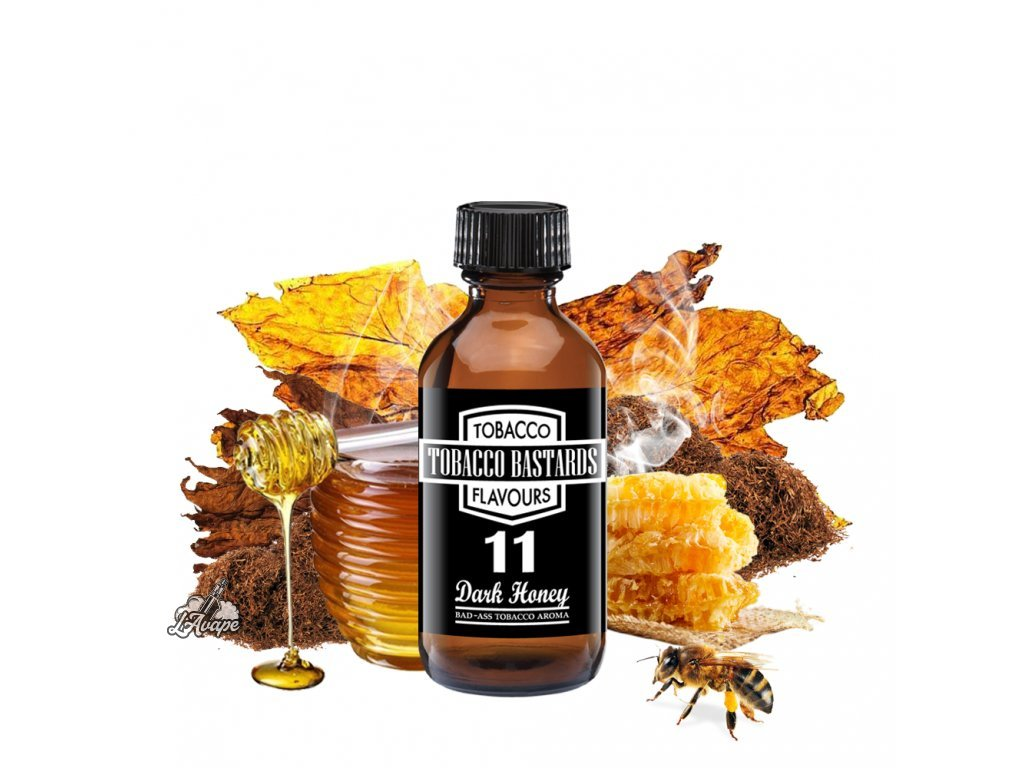Příchuť 10ml aroma Flavormonks Tobacco Bastards No. 11 Dark Honey - lavape.cz