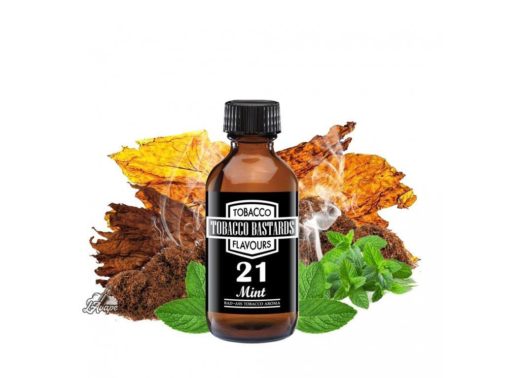 Příchuť 10ml aroma Flavormonks Tobacco Bastards No. 21 Mint - lavape.cz