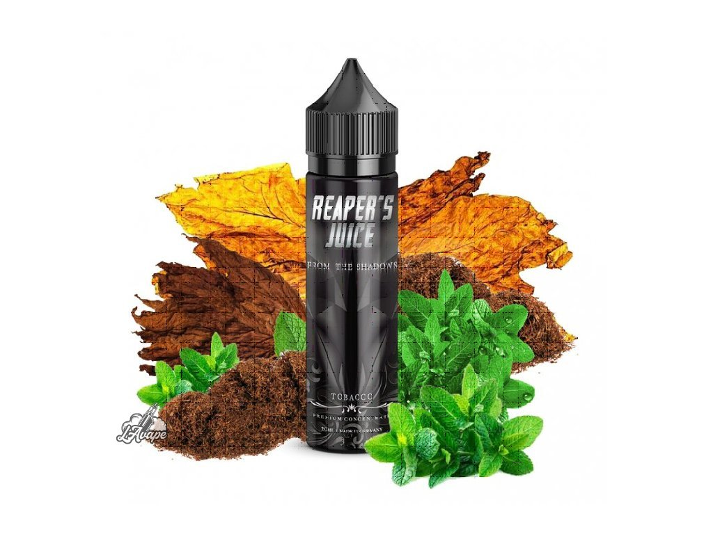 Příchuť KAPKAS FLAVA REAPERS JUICE FROM THE SHADOWS 20 ml v 60 ml lahvičce. lavape.cz