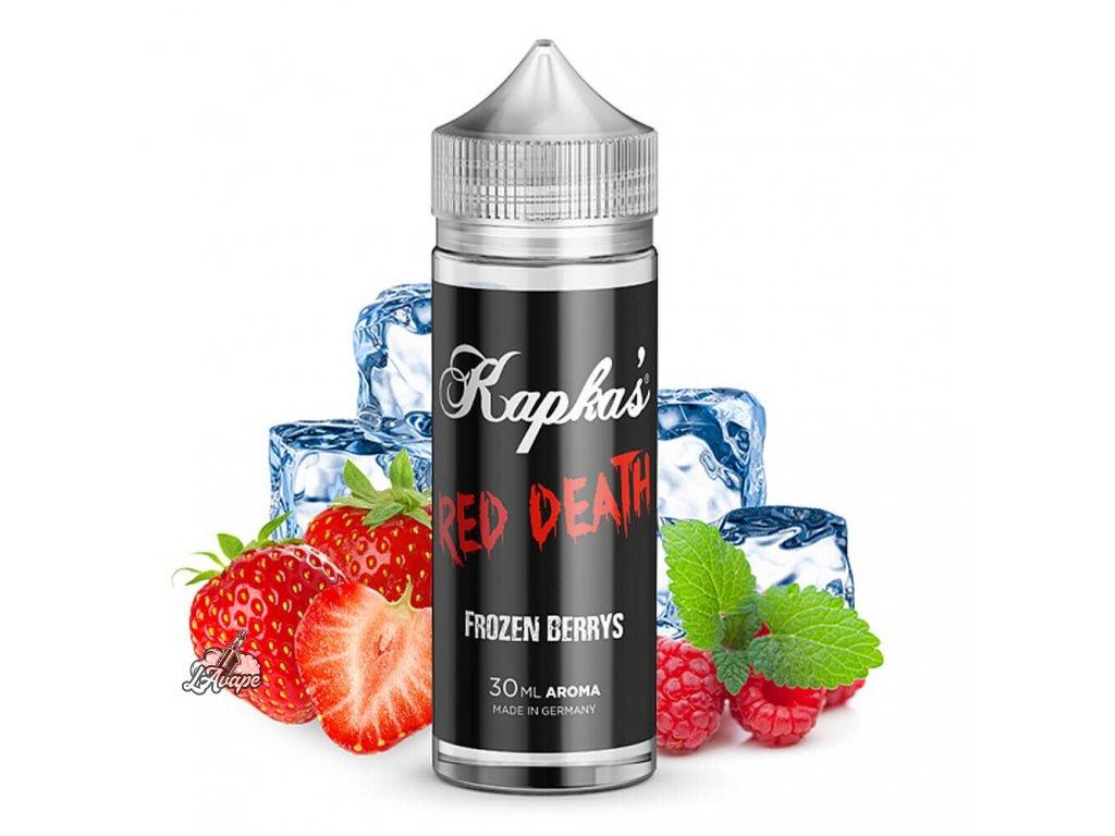 Příchuť KAPKAS FLAVA RED DEATH 15 ml v 60 ml lahvičce. lavape.cz