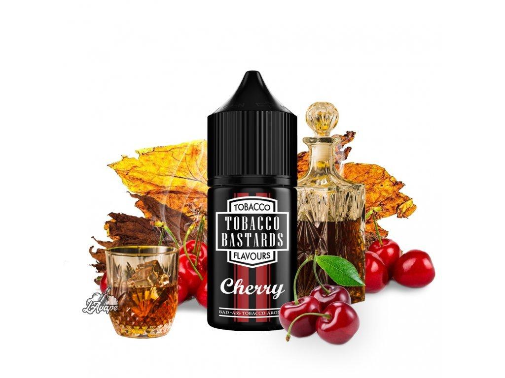 Příchuť 10ml aroma Flavormonks Tobacco Bastards Fruit Cherry Tobacco - tabák, třešně - lavape.cz