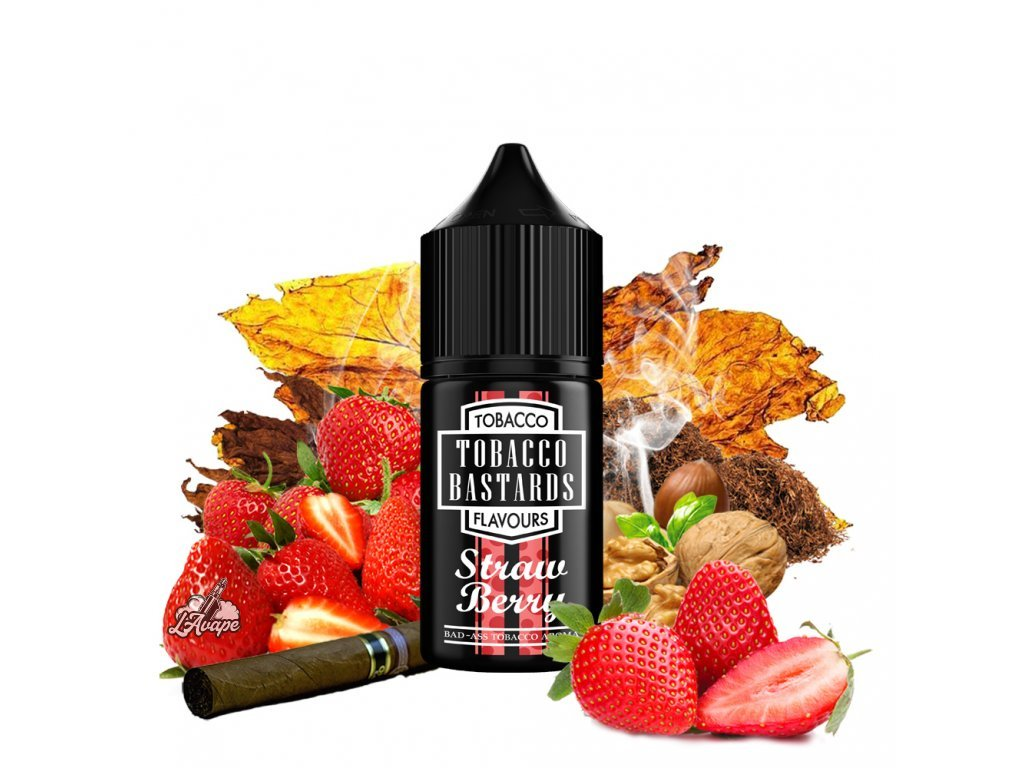 Příchuť 10ml aroma Flavormonks Tobacco Bastards Fruit Strawberry Tobacco - tabák, jahody - lavape.cz