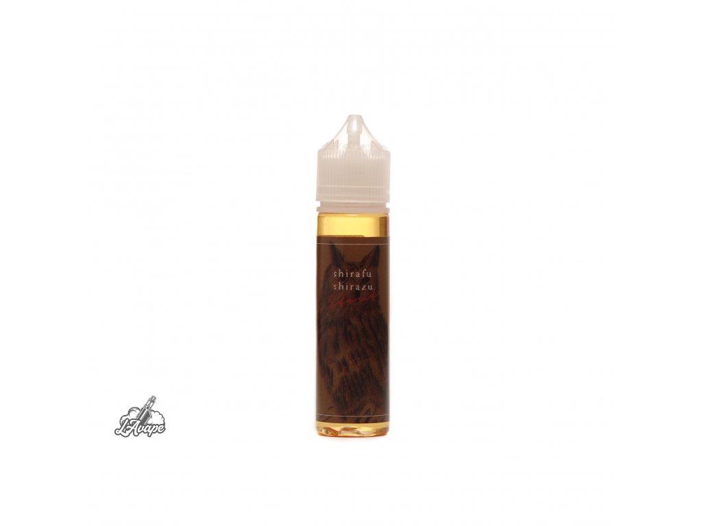 Příchuť 7,5 ml v 60 ml lahvičce - BaksLiquidLab Shirafu Shirazu Stout. Tabák, brandy a popel. lavape.cz