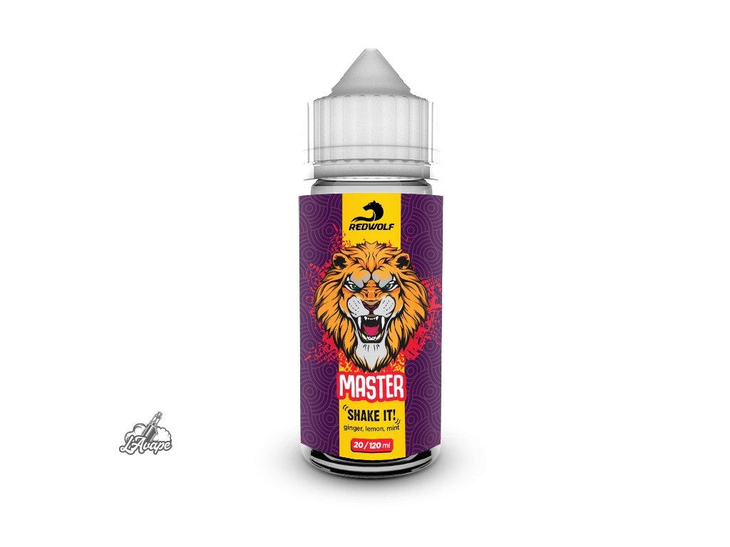 Příchuť 20 ml v 120 ml lahvičce - Red Wolf Master. Zázvorová limonáda. lavape.cz