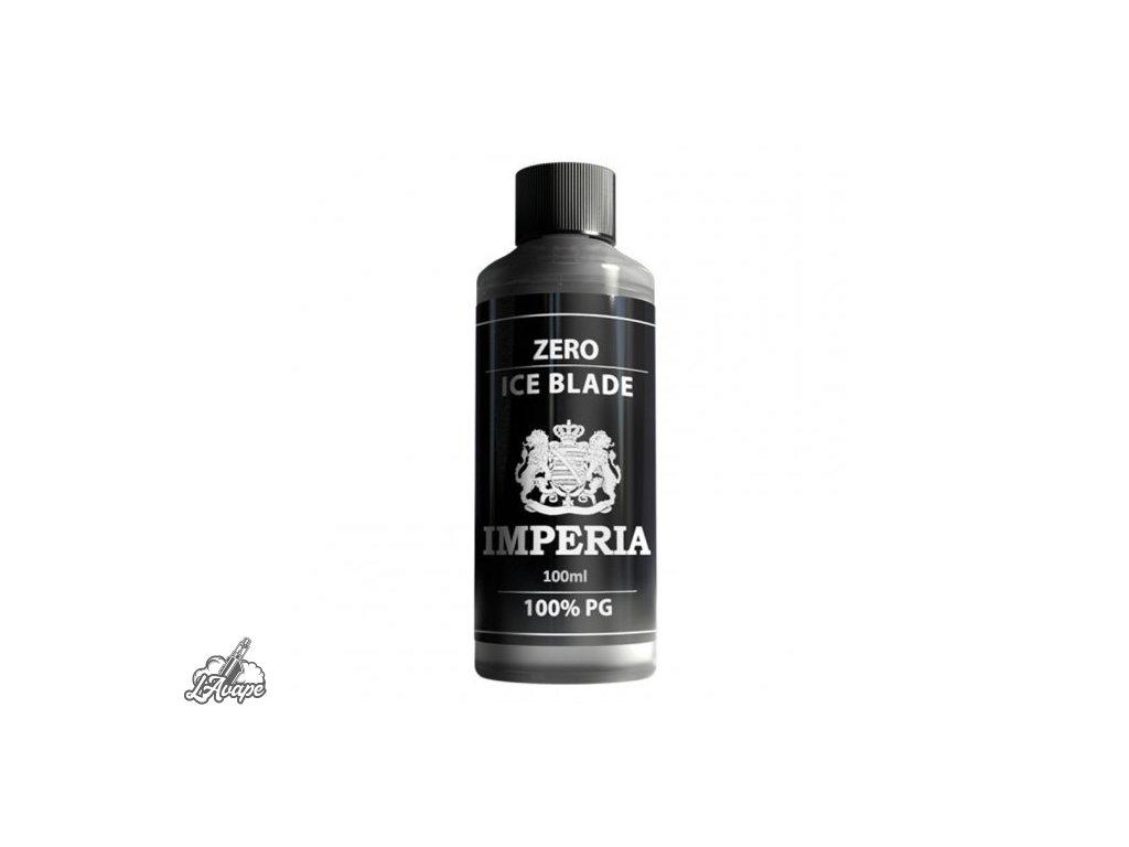 Imperia Báze 100% PG ZERO ICE BLADE - 100 ml - 0mg nikotinu, objem 100 ml.