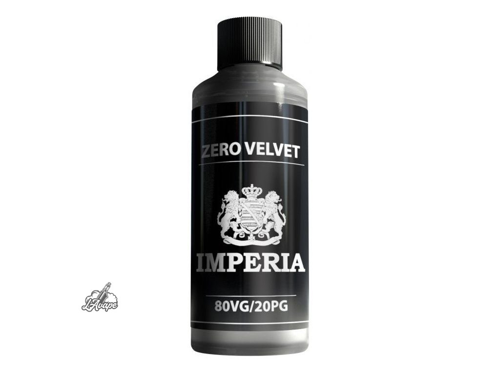Imperia Báze 80/20 ZERO VELVET - 100 ml - 0mg nikotinu, objem 100 ml.