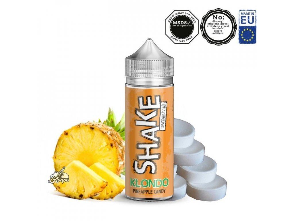 Příchuť 24ml v 120ml lahvičce - AEON SHAKE Klondo. Ananasový bonbón. LAVAPE.CZ