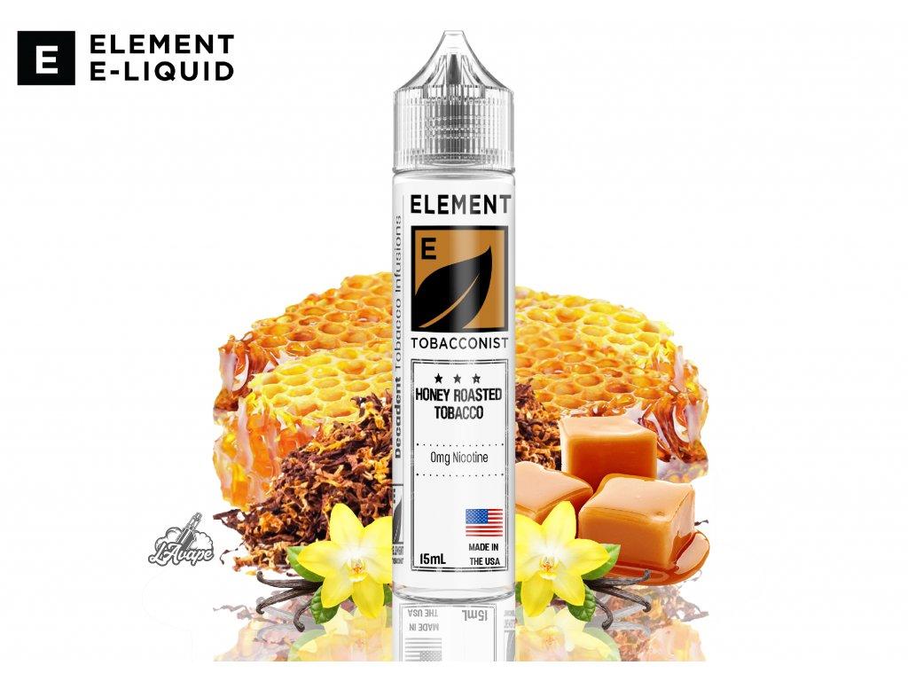 Element Honey Roasted Tobacco SNV - Vznešená směs bohatého tabáku a ořechových tónů - lavape.cz