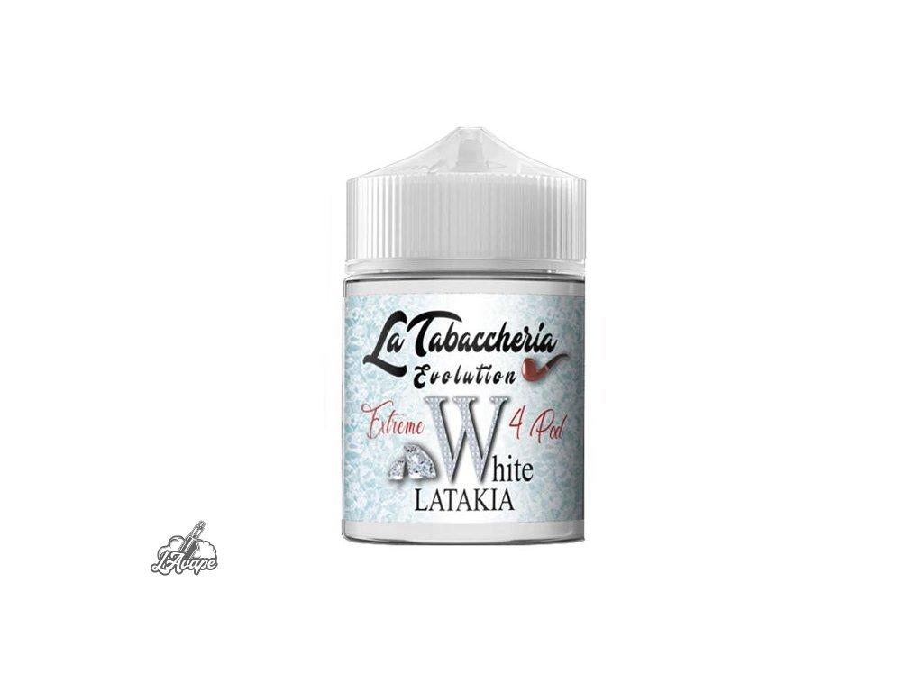 4Pod - White Latakia. Aromatická směs tabáků. 20ml aroma v 60 ml lahvičce SnV - Lavape.cz