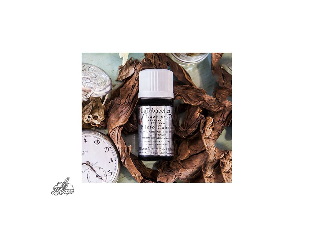 La Tabacheria Elite - Piloto Cubano. 10 ml aroma - Lavape.cz