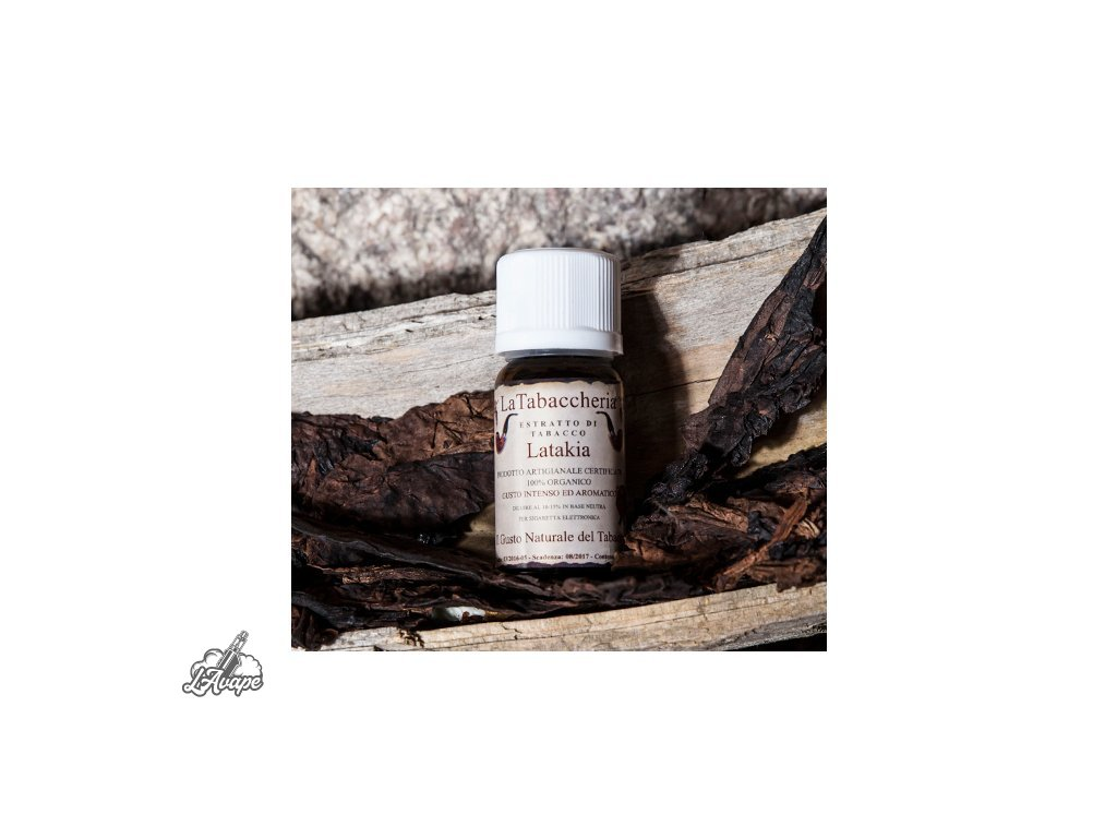 La Tabaccheria Tobacco Extract - Latakia. 10 ml aroma - Lavape.cz