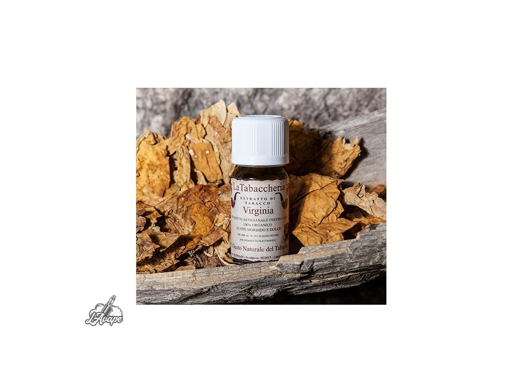 La Tabaccheria Tobacco Extract - Virginia. 10 ml aroma - Lavape.cz