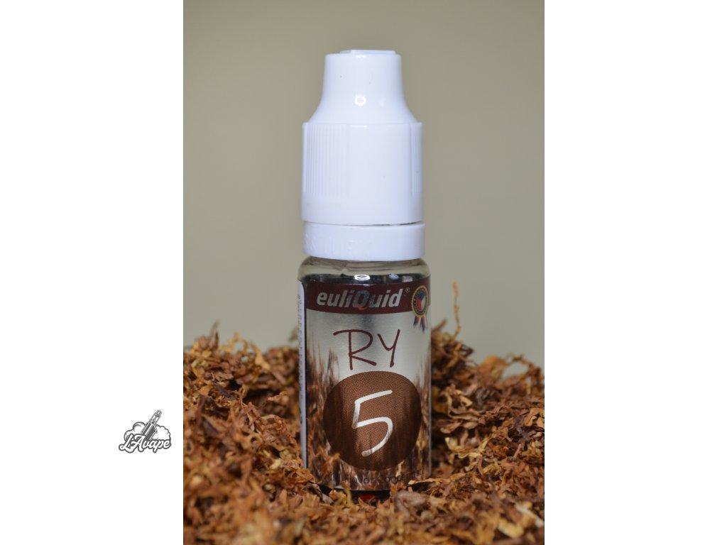 Euliquid - RY5 - tabák s vanilkou 10 ml aroma - lavape.cz