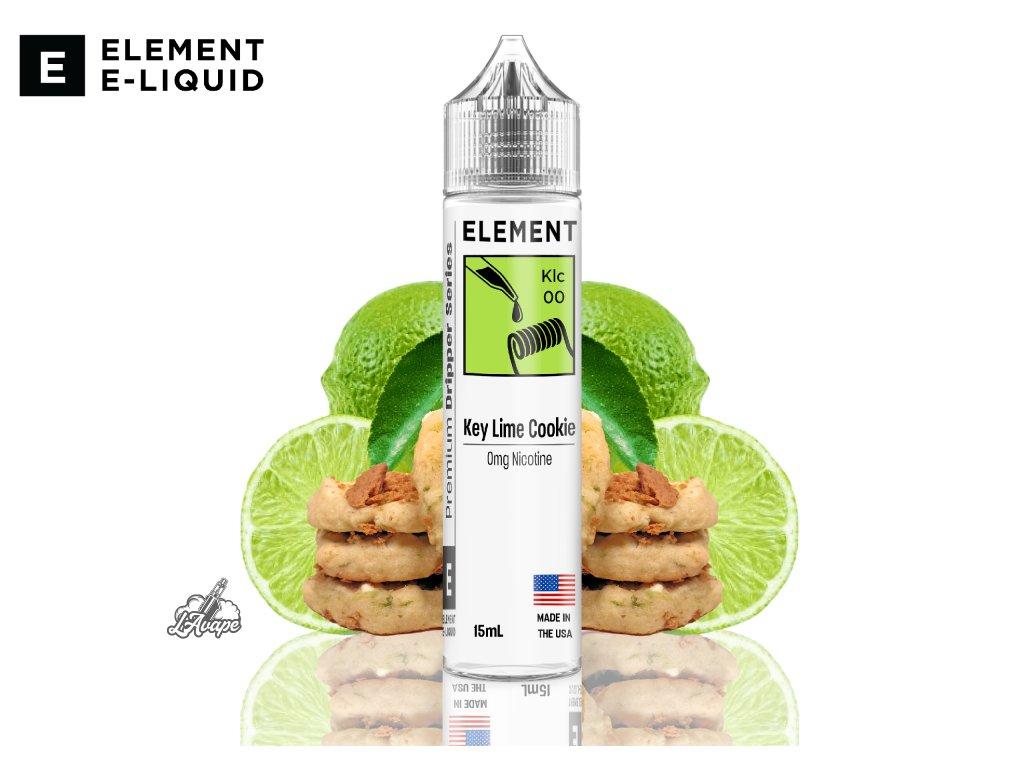 Element Key Lime Cookie SNV - Když se vám v puse rozpustí máslové sušenky se sladkou, ale pikantní citrusovou příchutí světoznámých Key Limes. To je Element Key Lime Cookie! - lavape.cz