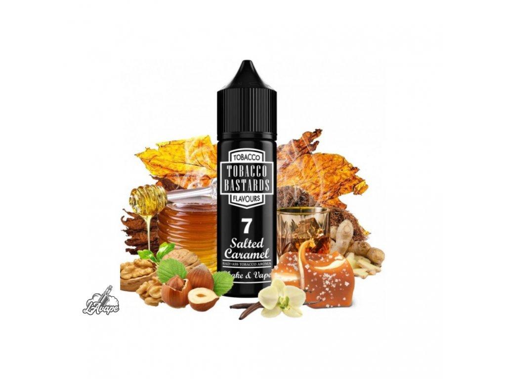 Příchuť SNV 12ml v 60ml lahvičce - Flavormonks Tobacco Bastard No. 7 Salted Caramel. lavape.czmmf1000x1000