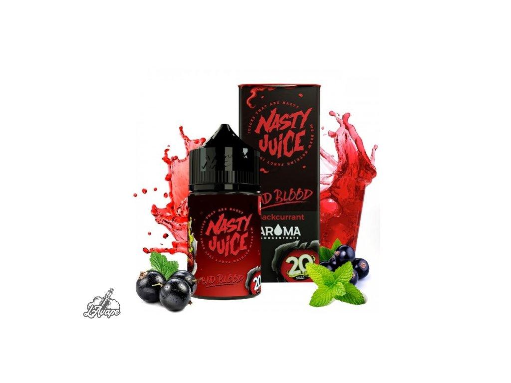 Nasty Juice Bad Blood SnV 20ml v 60 ml lahvičce.