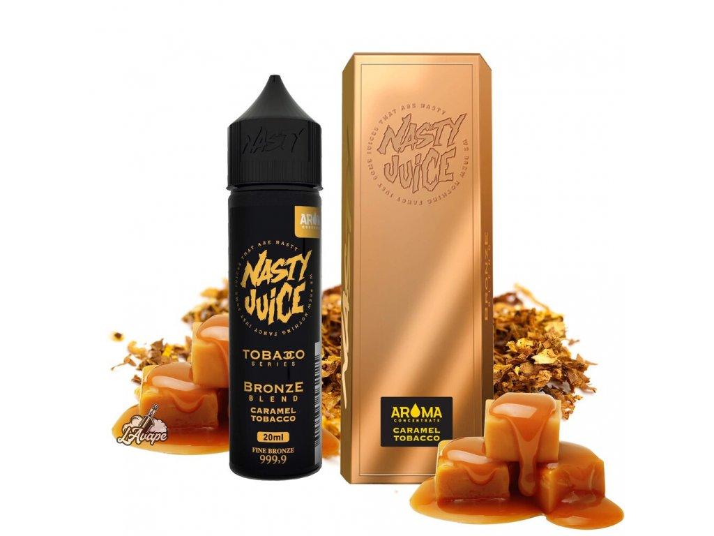 Nasty Juice Bronze Blend SnV 20ml v 60 ml lahvičce.