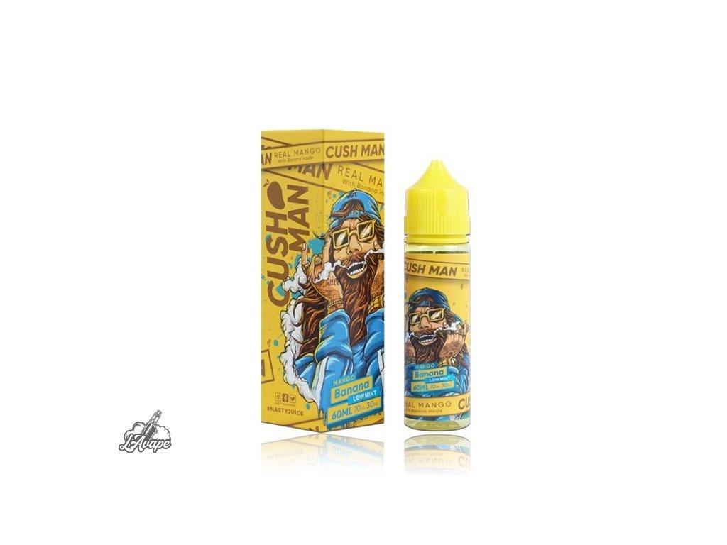Nasty Juice Mango Banana SnV 20ml v 60 ml lahvičce.