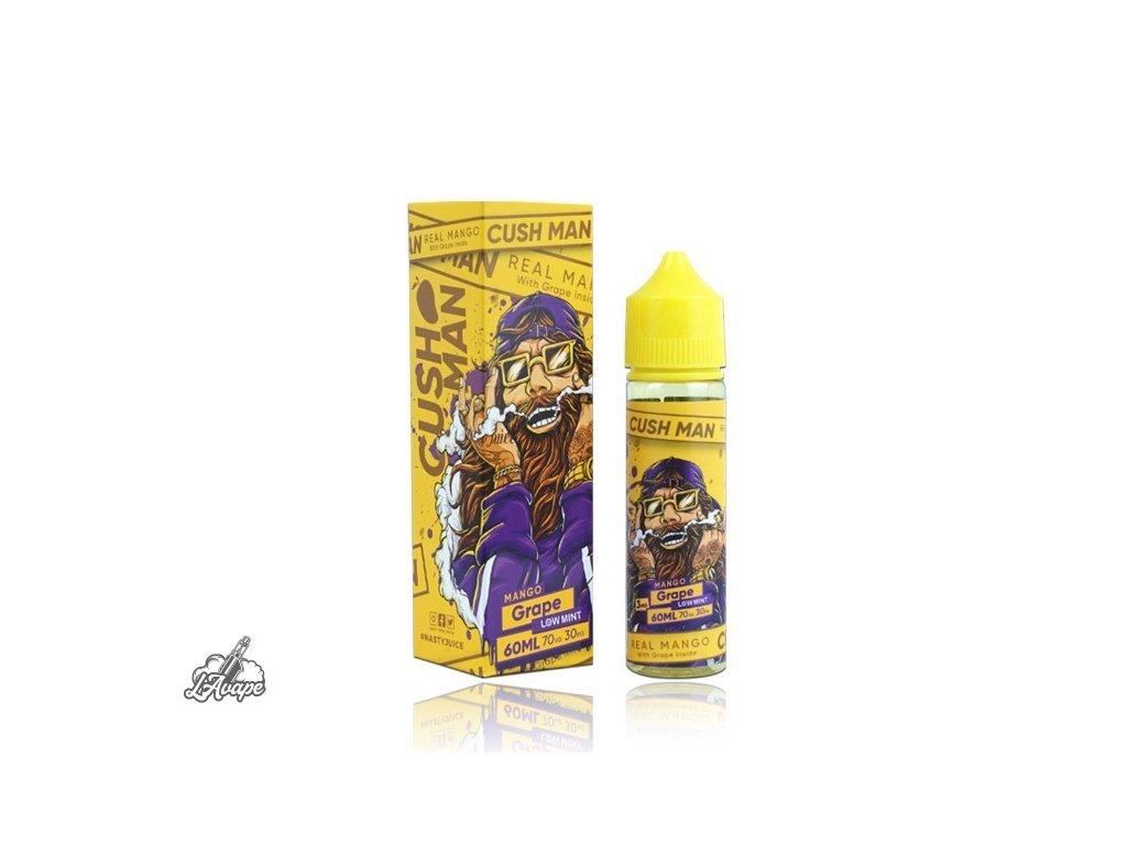 Nasty Juice Mango Grape SnV 20ml v 60 ml lahvičce.