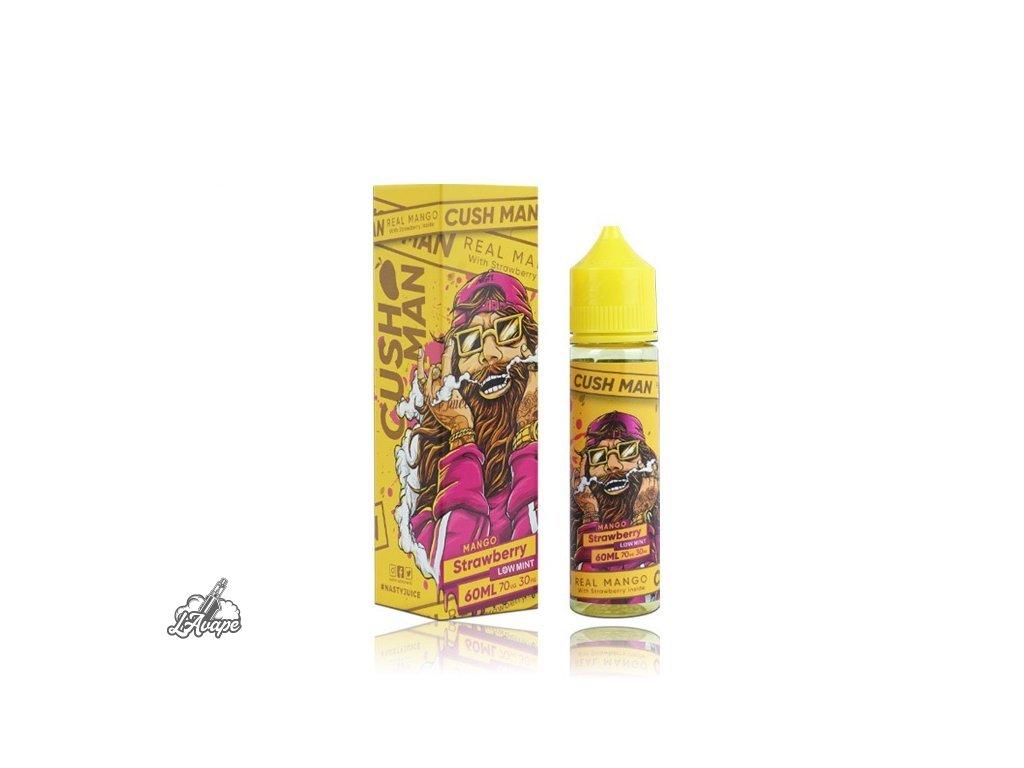Nasty Juice Mango Strawberry SnV 20ml v 60 ml lahvičce.