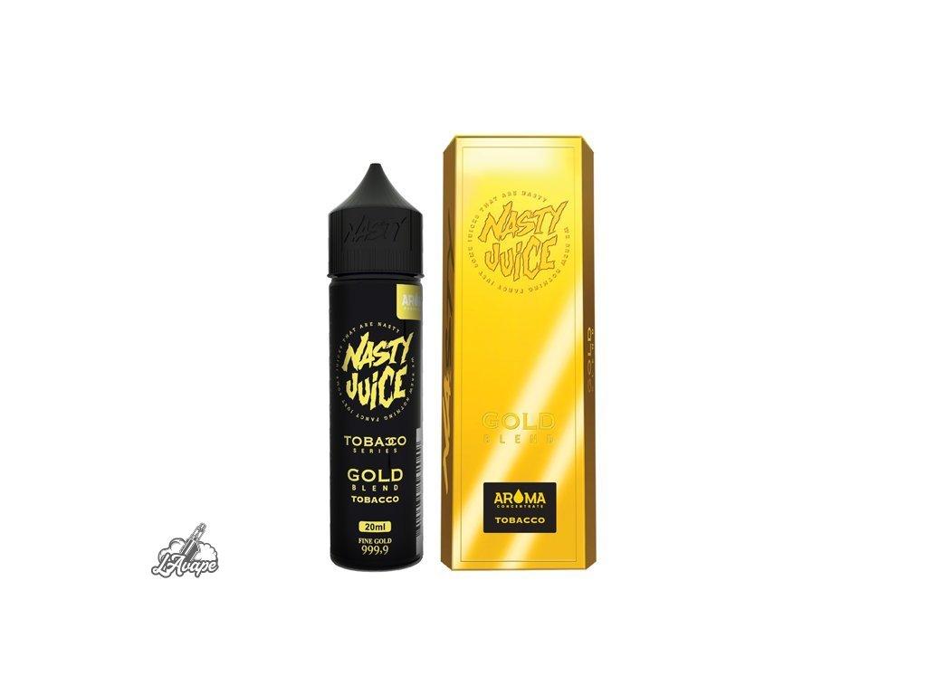Nasty Juice Gold Blend SnV 20ml v 60 ml lahvičce.