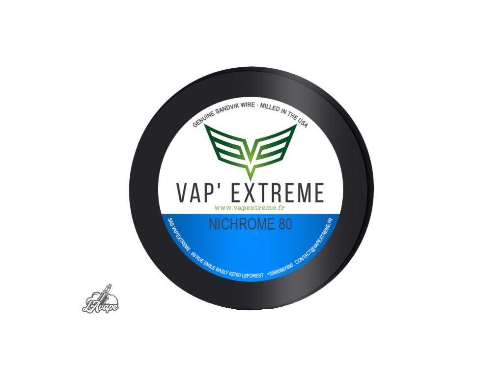 NI80 VAP EXTREME MTL 9m 28GA 0,3mm - lavape.cz