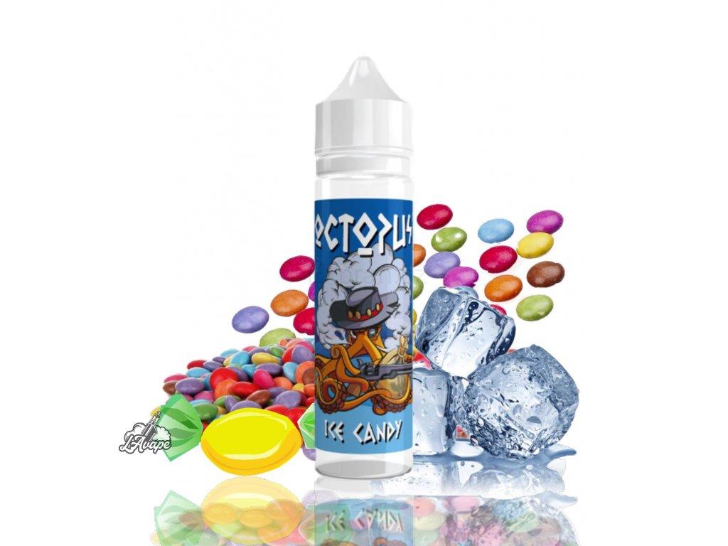 Příchuť SNV 10 ml v 60ml lahvičce - Octopus - Ice Candy - ovocné bonbóny. lavape.cz