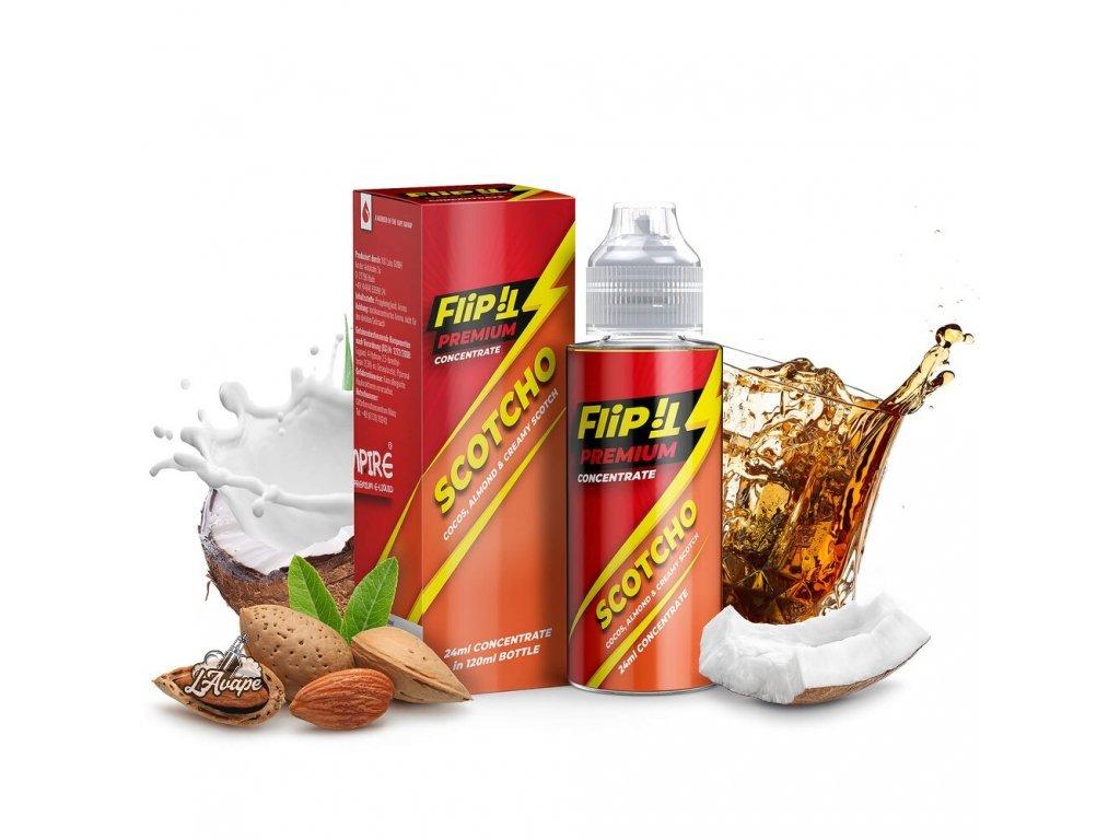 PJ EMPIRE FLIP SCOTCHO SnV 24 ml v 120 ml lahvičce - LAVAPE.CZ
