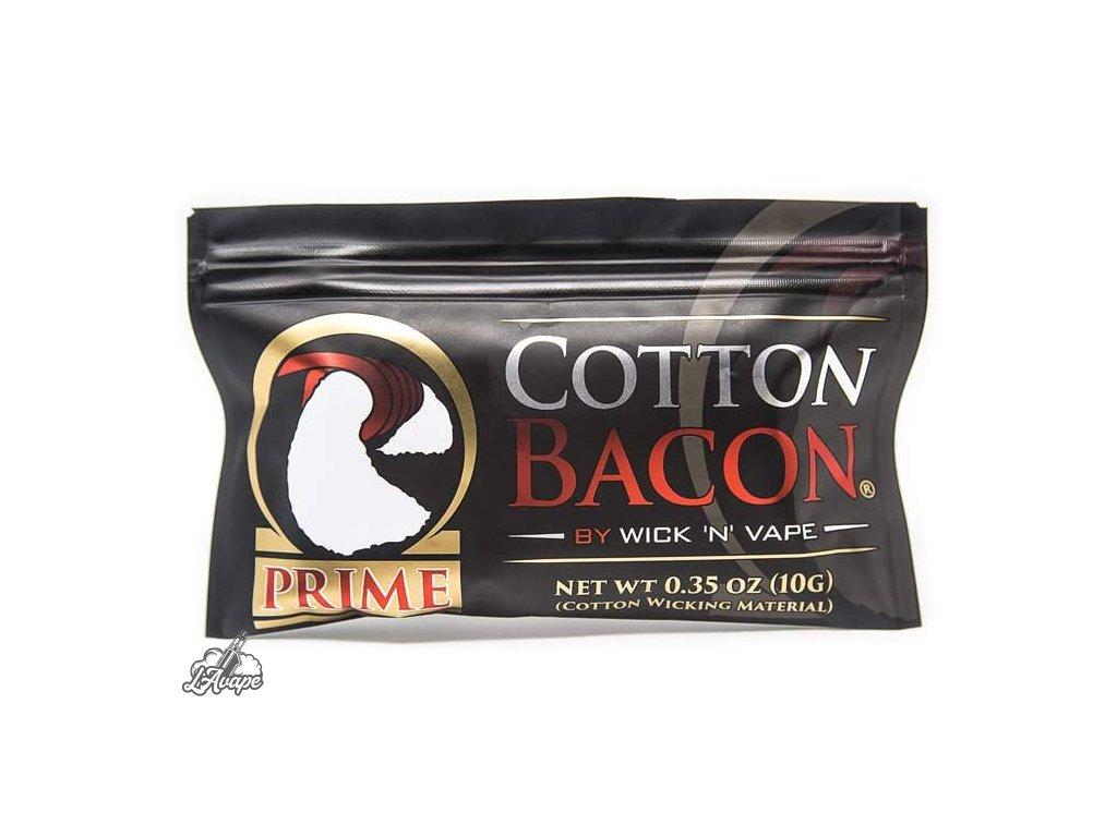 Organická vata Cotton Bacon Prime pro DIY vapery. - lavape.cz