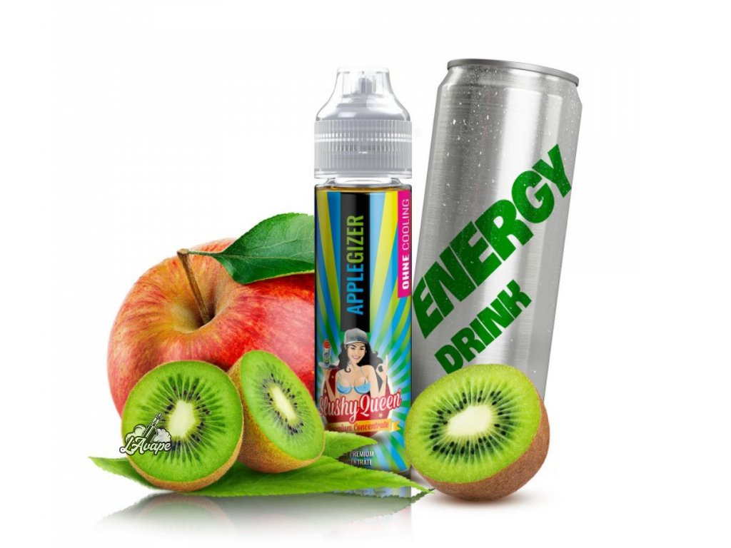 PJ EMPIRE SLUSHY QUEEN NO ICE Applegizer SnV 20 ml v 60 ml lahvičce - LAVAPE.CZ