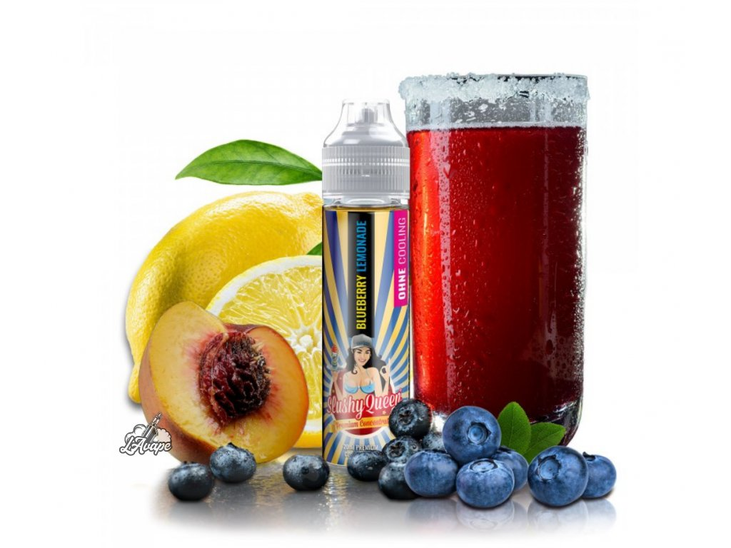 PJ EMPIRE SLUSHY QUEEN NO ICE BLUEBERRY LEMONADE SnV 20 ml v 60 ml lahvičce - LAVAPE.CZ
