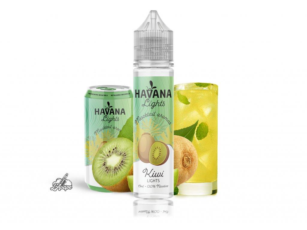 TI Juice - Havana Lights Kiwi Lights - SnV 15 ml v 60 ml lahvičce. lavape.cz