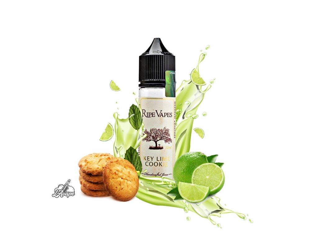 Příchuť SNV 20 ml v 60ml lahvičce - Ripe Vapes Key Lime Cookie. lavape.cz