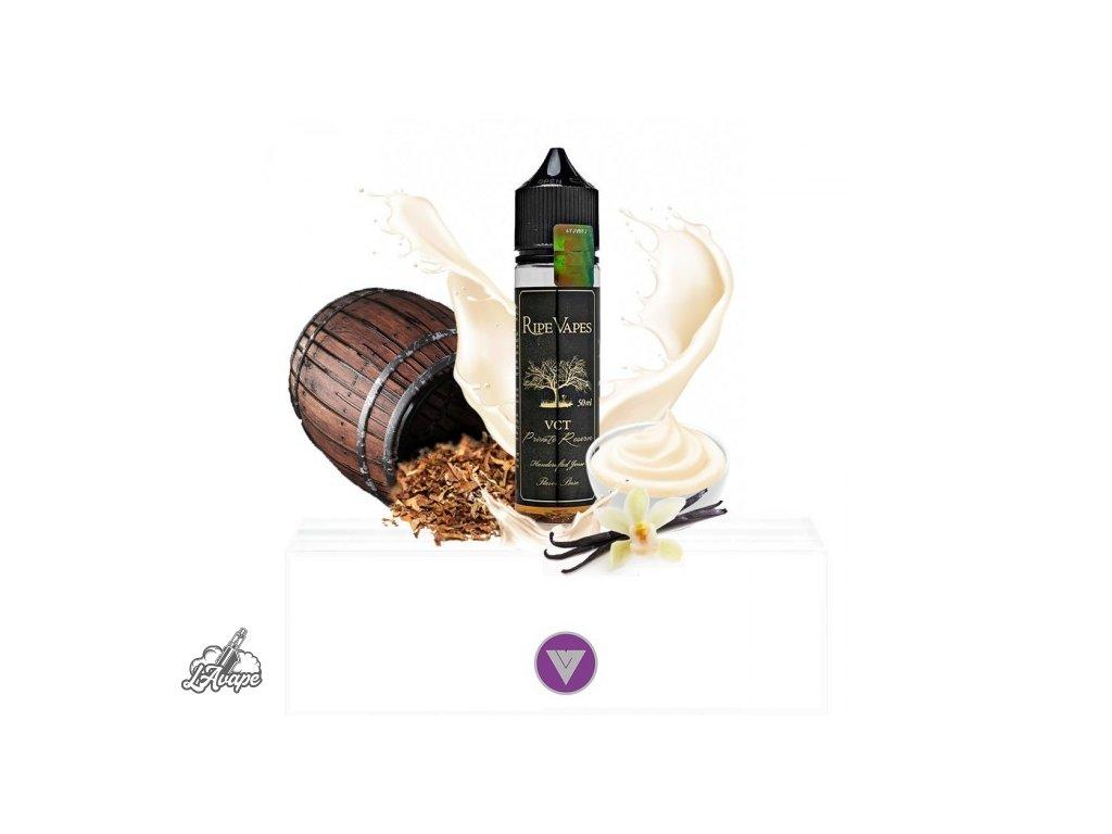Příchuť SNV 20 ml v 60ml lahvičce - Ripe Vapes VCT - Private Reserve - Vanilla, Custard, Tobacco. lavape.cz